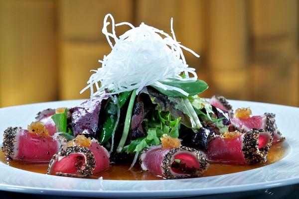 Cajun Tuna Sashimi